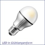 LED Glühlampenform