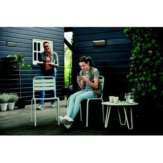 Philips myGarden LED Wandleuchte Bustan 1648393P0, 1000lm, Anthrazit